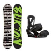 Burton Blunt Custom Snowboard and Binding Package 2016, 150cm, medium
