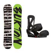 Burton Blunt Custom Snowboard and Binding Package 2016, 154cm, medium