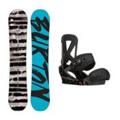 Burton Blunt Custom Snowboard and Binding Package 2016, 157cm, medium
