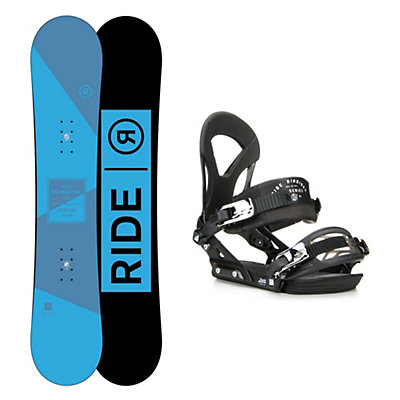 Ride Agenda EX Snowboard and Binding Package, , viewer