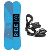 Ride Agenda EX Snowboard and Binding Package 2016, 152cm, medium