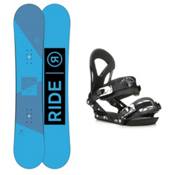 Ride Agenda EX Snowboard and Binding Package 2016, 156cm, medium