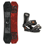 Ride Helix Capo Snowboard and Binding Package 2016, 157cm, medium