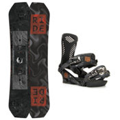 Ride Helix Capo Snowboard and Binding Package 2016, 159cm, medium