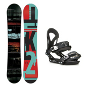 K2 Raygun EX Snowboard and Binding Package 2016, 153cm, medium