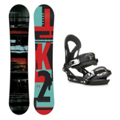 K2 Raygun EX Snowboard and Binding Package 2016, 156cm, medium