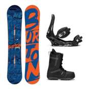 Burton Ripcord Invader Complete Snowboard Package 2016, , medium