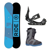 Ride Agenda Rook Boa Complete Snowboard Package 2016, 147cm, medium