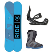 Ride Agenda Rook Boa Complete Snowboard Package 2016, 152cm, medium
