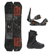 Ride Helix Jackson Boa Coiler Complete Snowboard Package 2016, 159cm, medium