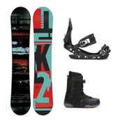 K2 Raygun Seem Complete Snowboard Package, 153cm, medium