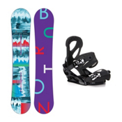 Burton Feather Stiletto Womens Snowboard and Binding Package 2016, 152cm, medium