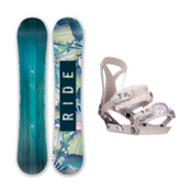 Ride Baretta DVA Womens Snowboard and Binding Package 2016, , medium
