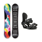 Ride Compact LXH Womens Snowboard and Binding Package 2016, 147cm, medium