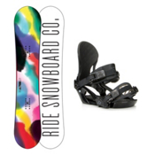 Ride Compact LXH Womens Snowboard and Binding Package 2016, 150cm, medium