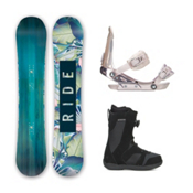 Ride Baretta Harper Boa Womens Complete Snowboard Package 2016, , medium