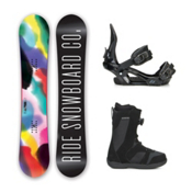 Ride Compact Harper Boa Womens Complete Snowboard Package 2016, 147cm, medium