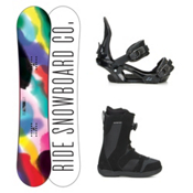 Ride Compact Harper Boa Womens Complete Snowboard Package 2016, 150cm, medium