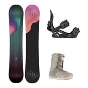 K2 Bright Lite Sendit Boa Womens Complete Snowboard Package 2016, 146cm, medium