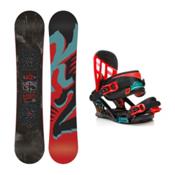 K2 Vandal Vandal Kids Snowboard and Binding Package, 142cm, medium