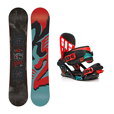 K2 Vandal Wide Vandal Kids Snowboard and Binding Package, , viewer