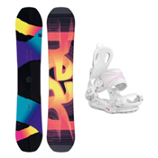 Head Shine RX Fay 1 Womens Snowboard and Binding Package 2016, , medium