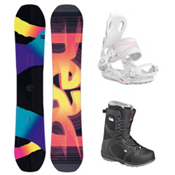 Head Shine Scout Pro Womens Complete Snowboard Package 2016, , medium