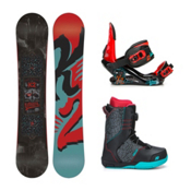 K2 Vandal Vandal Boa Kids Complete Snowboard Package 2016, 132cm, medium