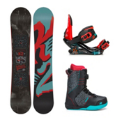 K2 Vandal Vandal Boa Kids Complete Snowboard Package 2016, 137cm, medium