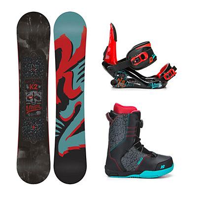 K2 Vandal Vandal Boa Kids Complete Snowboard Package, , viewer