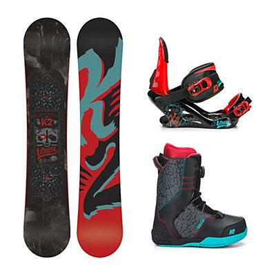 K2 Vandal Vandal Boa Kids Complete Snowboard Package, 132cm, viewer