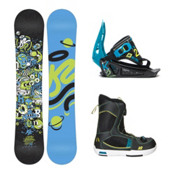 K2 Mini Turbo Mini Turbo Boa Kids Complete Snowboard Package, , medium