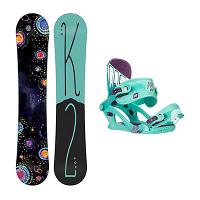 K2 Kandi Kat Girls Snowboard and Binding Package, , viewer