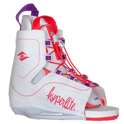 Hyperlite Allure Womens Wakeboard Bindings, White, viewer