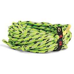 Straight Line Floating 2 Person Towable Tube Rope 2017, Green, 256