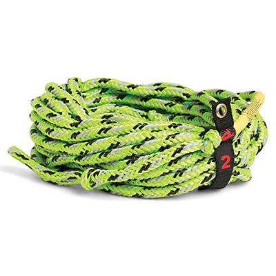 Straight Line Floating 2 Person Towable Tube Rope 2016, Green, viewer
