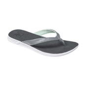 Reef Rover Catch Womens Flip Flops, Black-Mint, medium