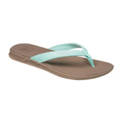 Reef Rover Catch Womens Flip Flops, Mint, medium