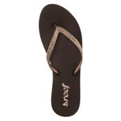 Reef Stargazer Womens Flip Flops, Bronze, medium