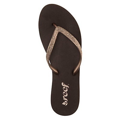 Reef Stargazer Womens Flip Flops, Bronze, viewer