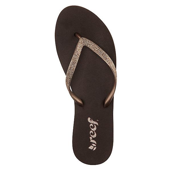 Reef Stargazer Womens Flip Flops, Bronze, 600