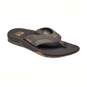 Reef Fanning Mens Flip Flops, Brown-Gum, medium