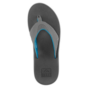 Reef Fanning Mens Flip Flops, Gunmetal Blue, medium