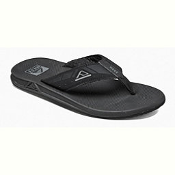 Reef Phantoms Mens Flip Flops, Black, 256