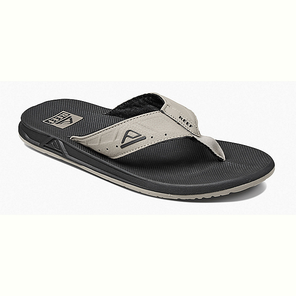 Reef Phantoms Mens Flip Flops, Black-Tan, 600