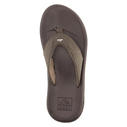 Reef Rover Mens Flip Flops, Brown, 256