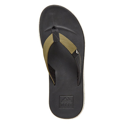 Reef Slammed Rover Mens Flip Flops, Black-Olive, viewer