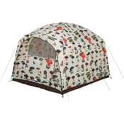 Burton Stone Hut 6 Person Tent 2016, Shrooms, medium