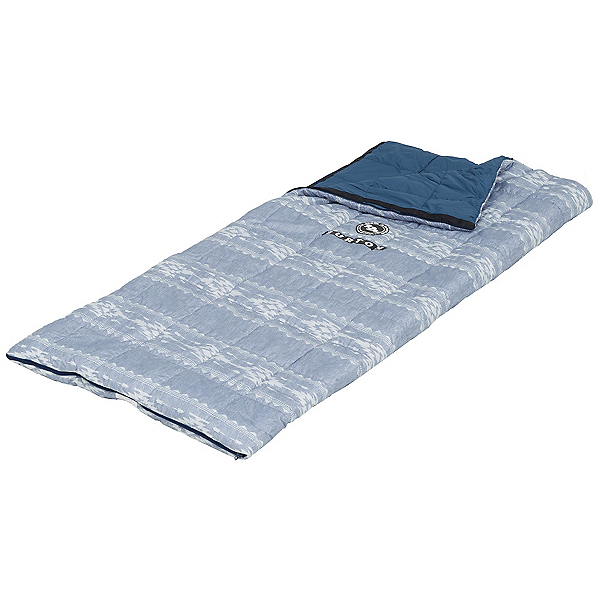 Burton Dirt Bag 40 Regular Sleeping Bag, Famish Stripe, 600