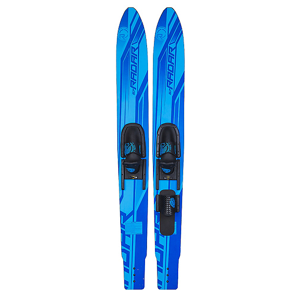 Radar Skis X-Caliber Combo Water Skis With Adjustable Horseshoe Bindings, , 600
